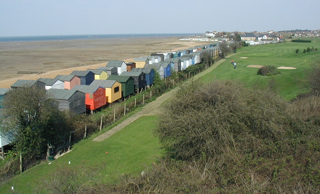 Beach-Huts-and-Whistable-Golf-Club