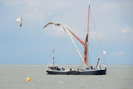 Thames-Barge