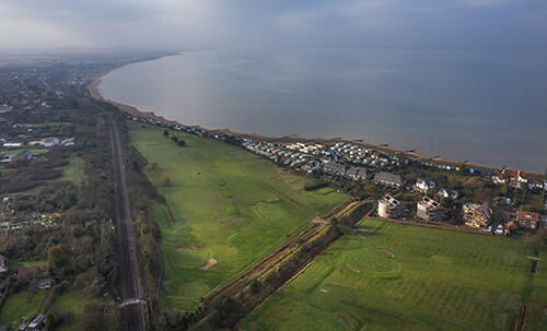 Whitstable-golf-club-Aerial